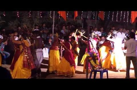 Dance: Ladies Dance in village for Pongal Festival