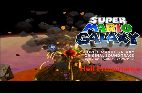 Super Mario Galaxy - Melty Molten Galaxy ~ Hell Prominence Extended (10 Hours)