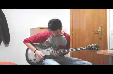 The edge-Tonight Alive ( guitar cover) B.S.O Spiderman 2