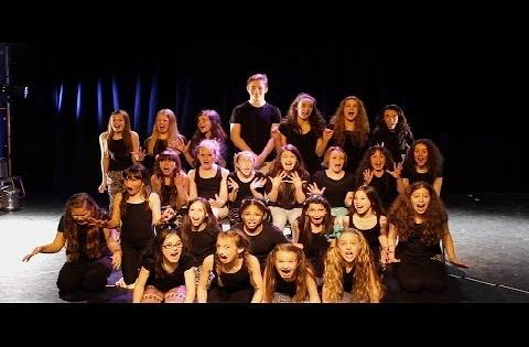 Amazing Young Singers Perform Musical Theatre Mashup
