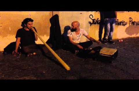 Amazing street performance with unbelievable instruments!