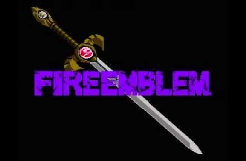 Fire Emblem   Ankoku Ryu to Hikari no Tsurugi NES Music   Title Theme