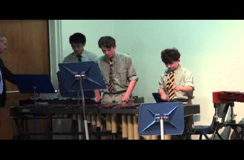 Oli performs with Senior Percussion Ensemble!