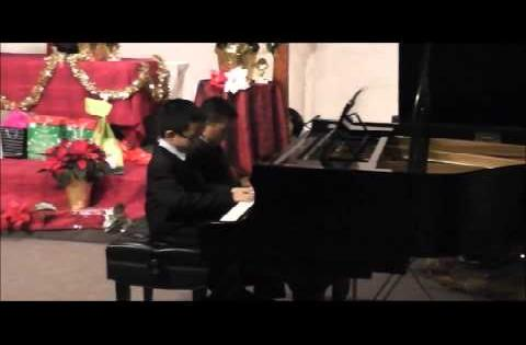 Christmas Piano Recital 2014 - Performed by Nicholas & Ian